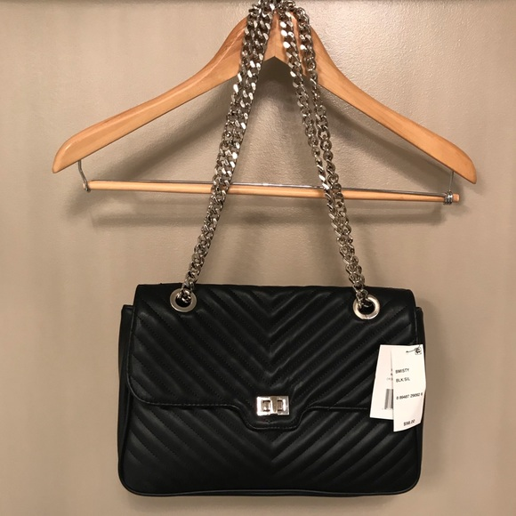 952a1bdc12a Steve Madden Bags | Smooth Quilted With Chain Strap | Poshmark